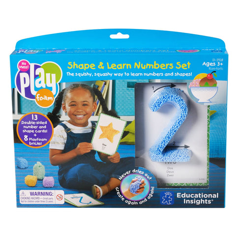 Playfoam - figurer og tall | Learning Resources