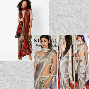 Styling Indian Saree - Scarf Style
