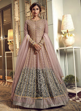 Load image into Gallery viewer, Pink Heavy Embroidered Gown Style Anarkali Suit