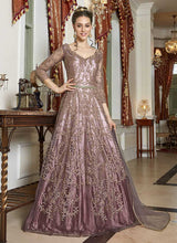 Load image into Gallery viewer, Pink Shaded Heavy Embroidered Gown Style Anarkali
