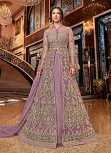 Load image into Gallery viewer, Pink and Gold Heavy Embroidered Lehenga