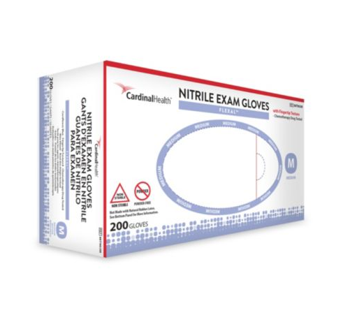 Cardinal Nitrile Exam Gloves