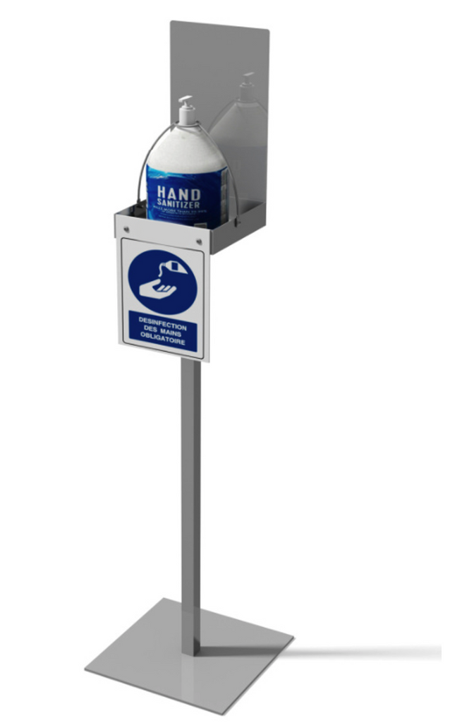 HAND SANITIZER STATION | MULTI-FUNCTION