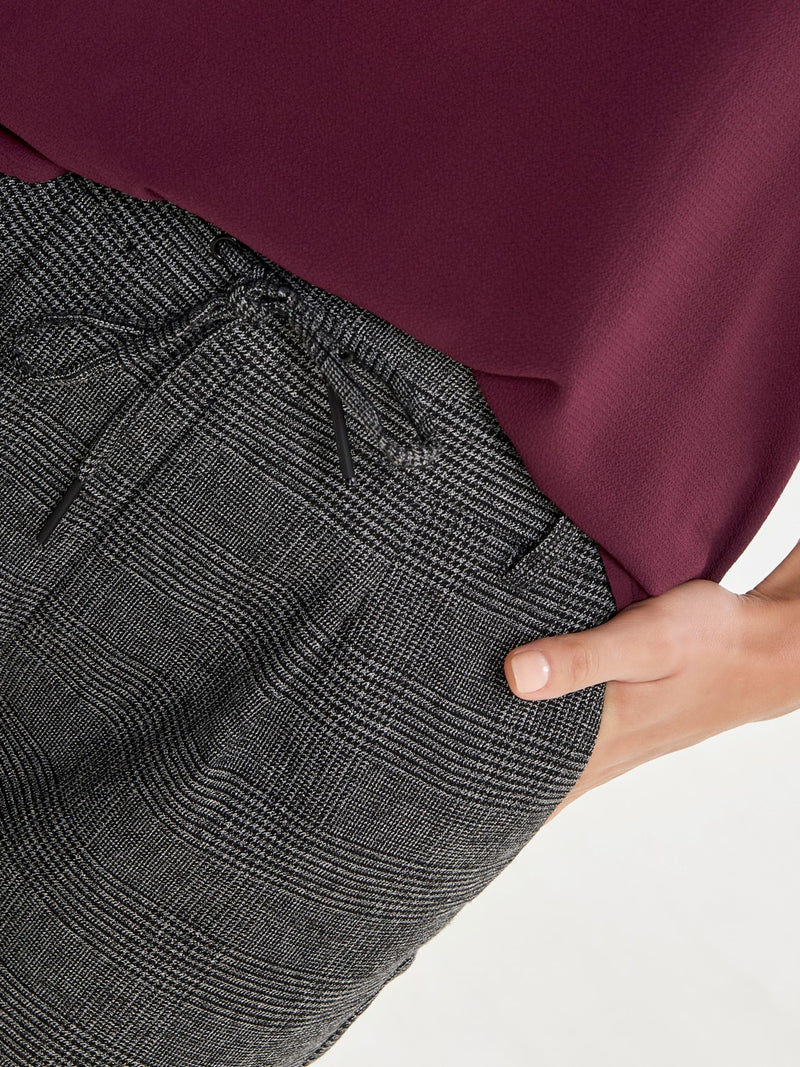 Poptrash Soft Check Pants