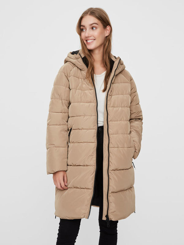 Bergen 3/4 Length Jacket In Taupe