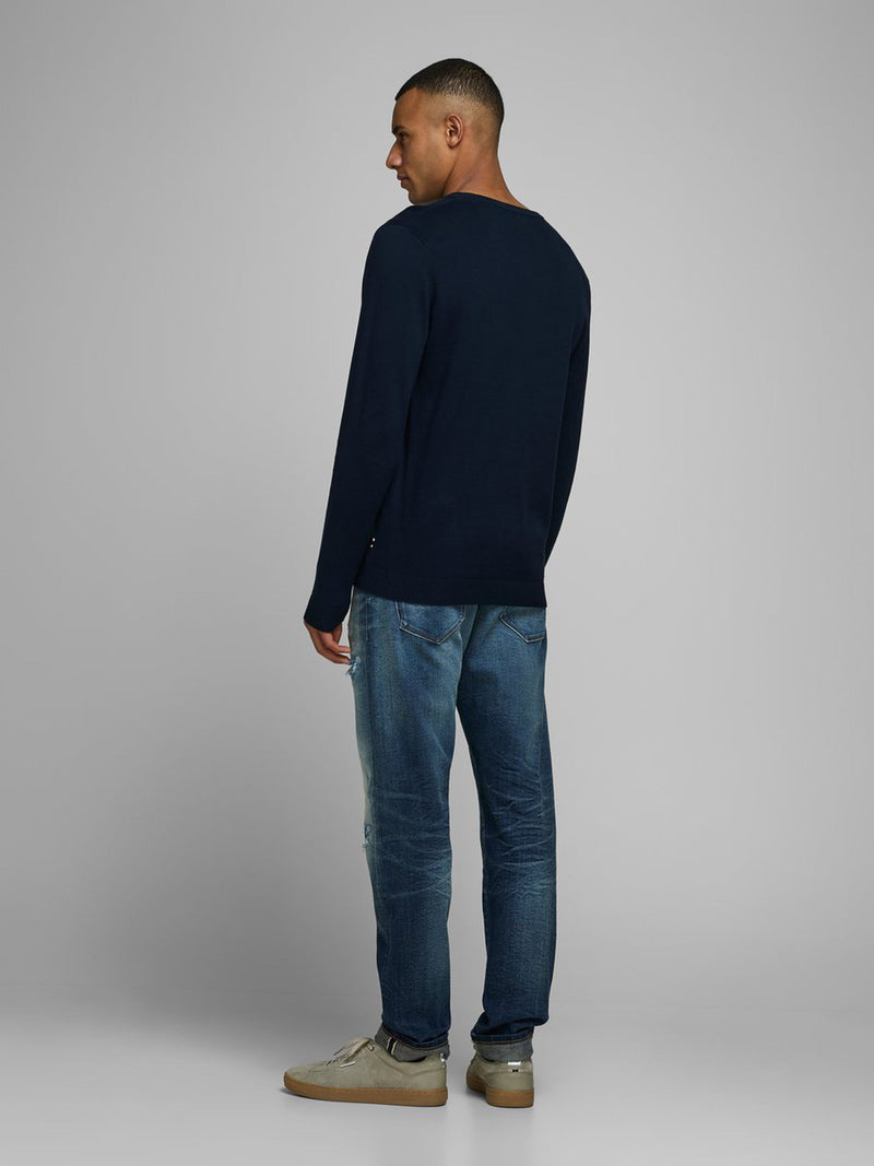 Niall Basic V Neck Knit