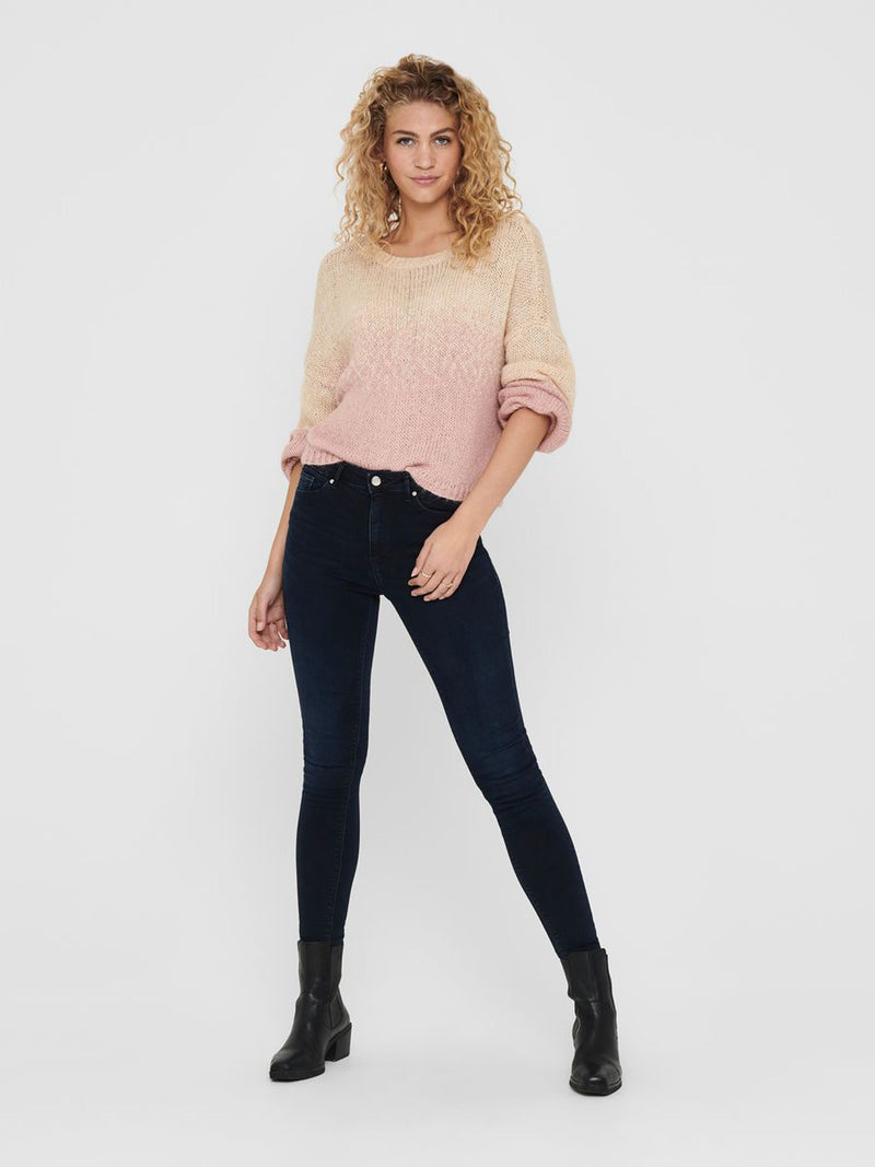 Paola Dark Denim Skinny Jeans