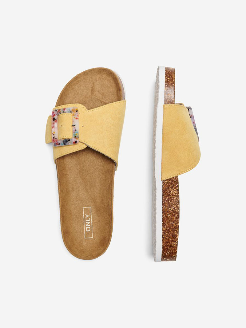 Maxi Yellow Sandal