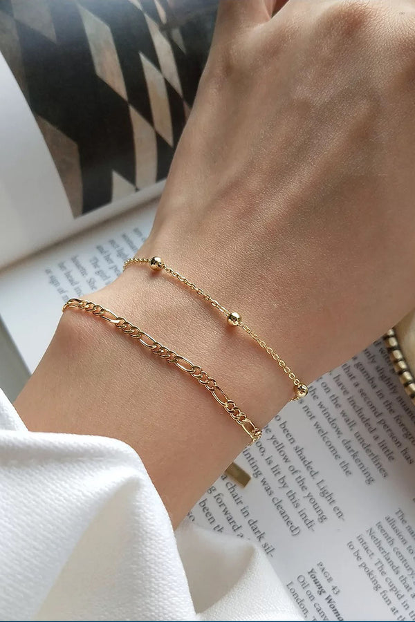 Bauble Gold Plated Bracelet