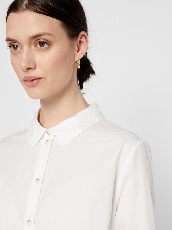 Noma Long Shirt In Cream