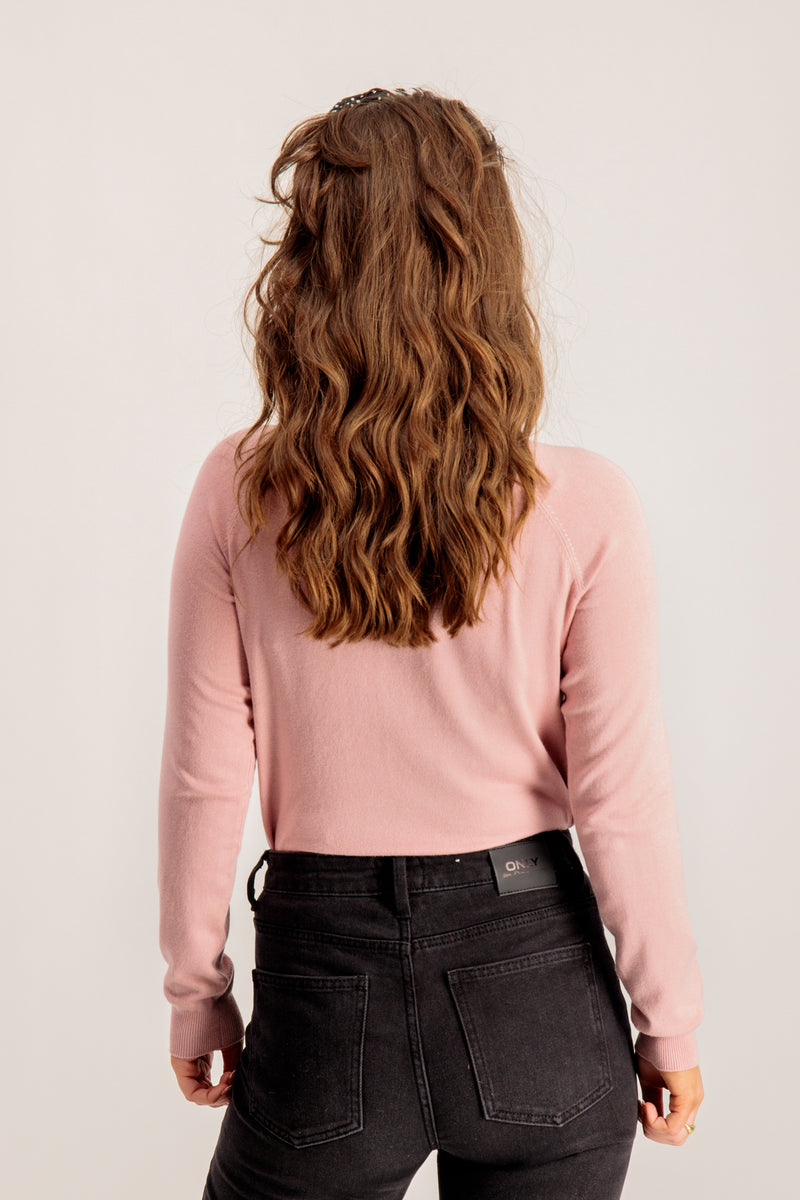 Sera Pink Knitted Top