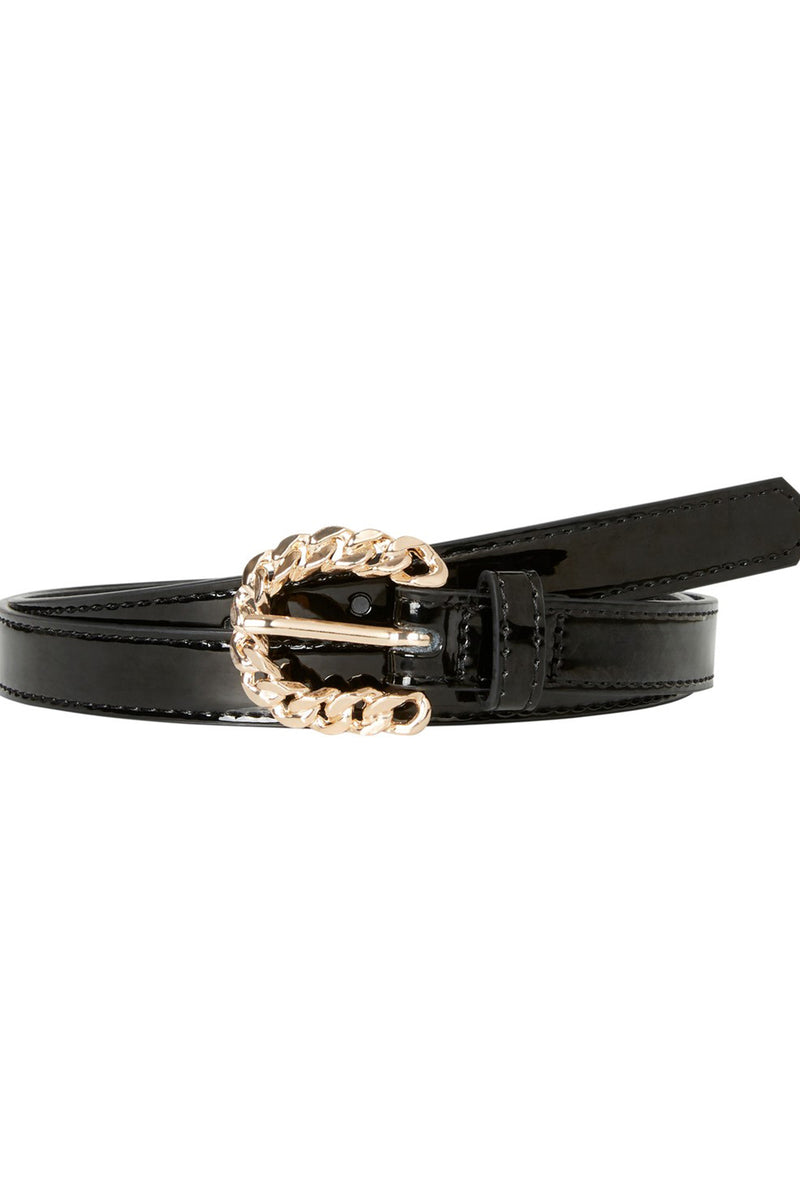 women's jeans belt in black