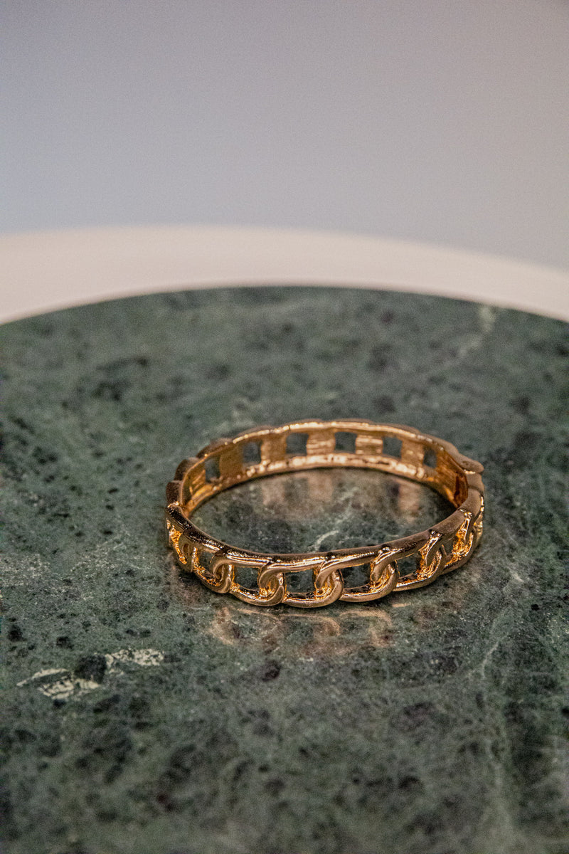 Minna Gold Bangle Bracelet