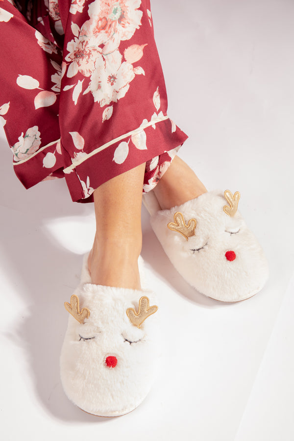 Rudolf Christmas Slippers