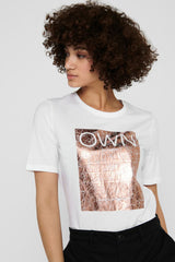 Ivy Own Tee In White