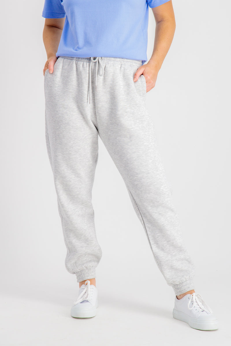 Lexi Grey Oversized Joggers