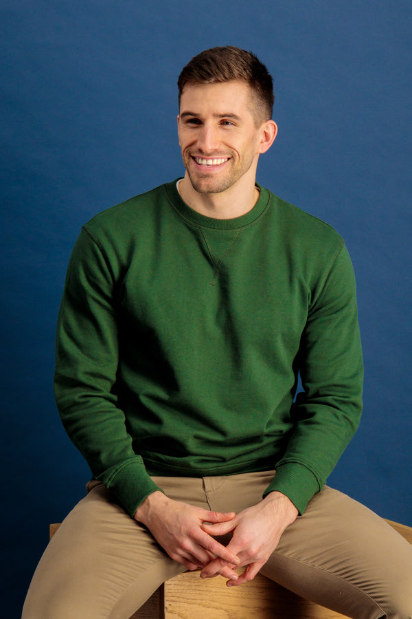 Jason Green Crew Neck Sweatshirt
