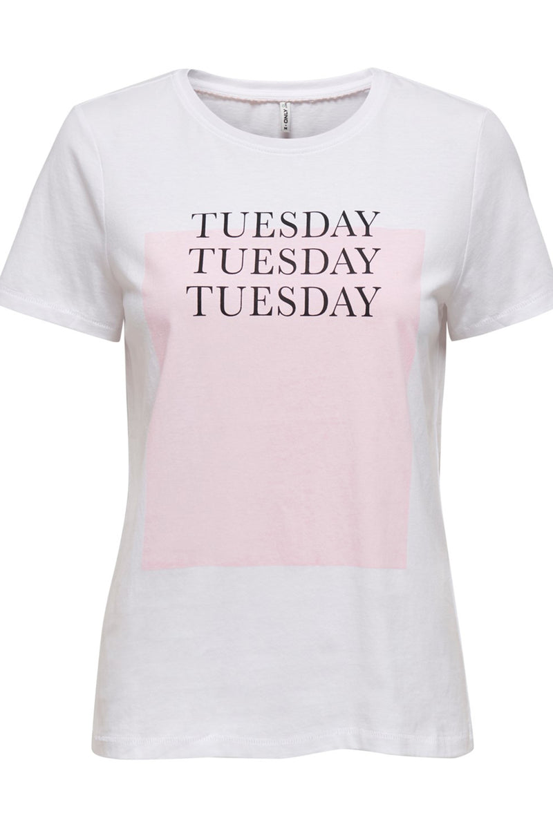 Tuesday Weekday Tee In White