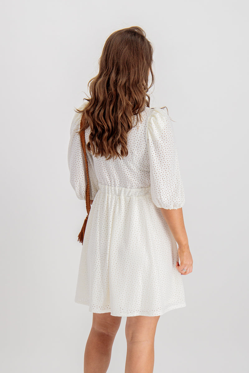 Florence Dress In Cream