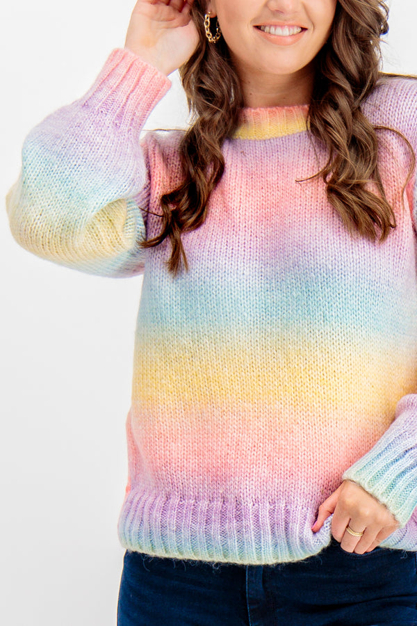 Holly Rainbow Knit