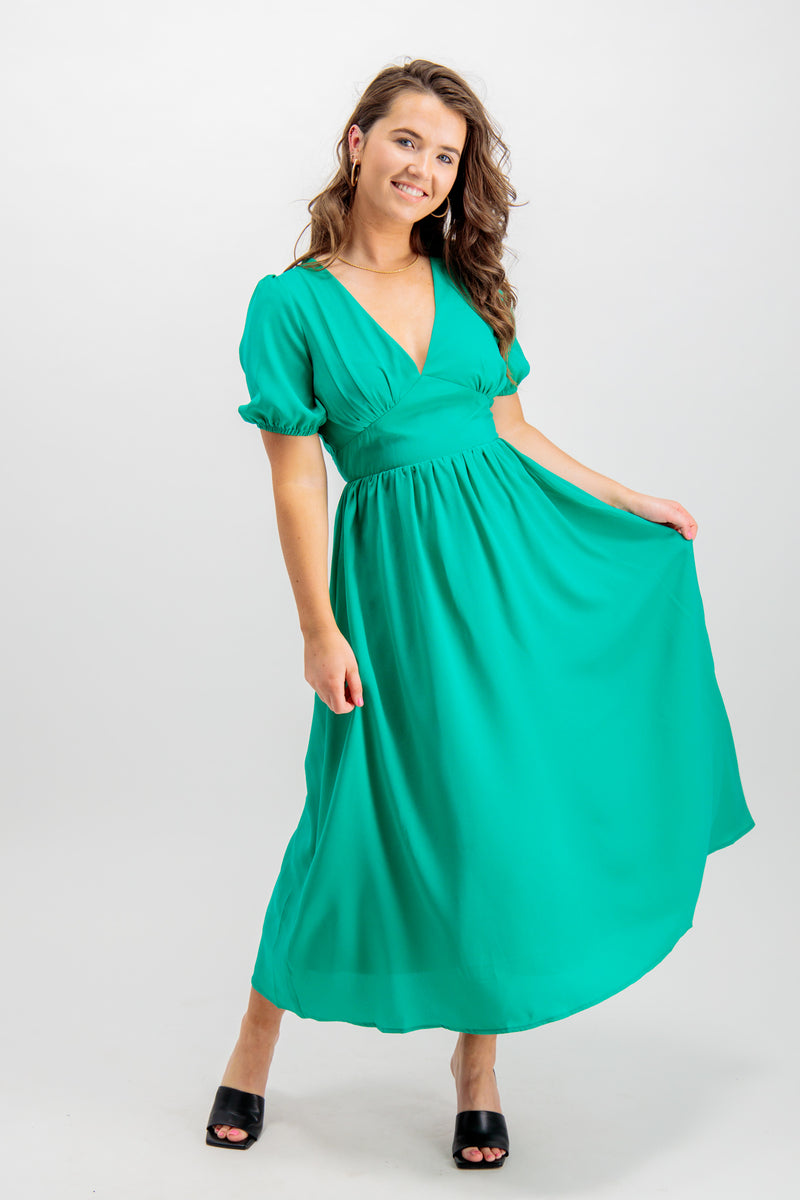 Megan Green Dress