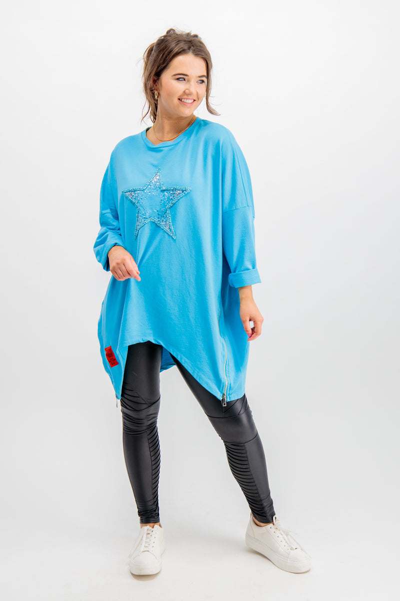 Blair Blue Star Tunic