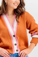 Rachel Striped Cardigan