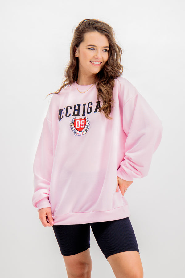 Lola Pink Michigan Sweatshirt