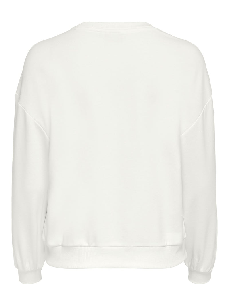 Leda New York Sweatshirt In Cream