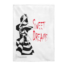 "Load image into Gallery viewer, Printify All Over Prints 30"" x 40"" Sweet Dreams Velveteen Plush Blanket"