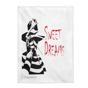 "Printify All Over Prints 30"" x 40"" Sweet Dreams Velveteen Plush Blanket"