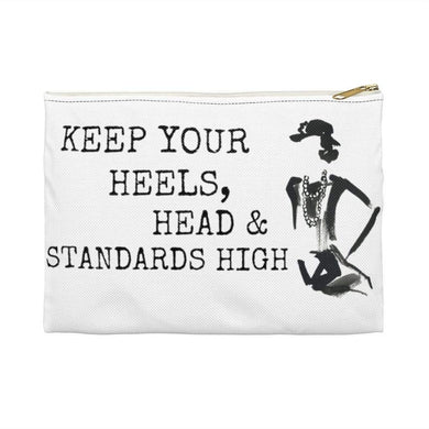 Printify Bags Small / White Standards High Accessory Pouch