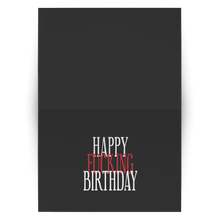 Load image into Gallery viewer, teelaunch Cards Happy Fucking Birthday