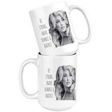 Load image into Gallery viewer, teelaunch Drinkware Miss Dolly Miss Dolly: Strong Brave Humble & Badass
