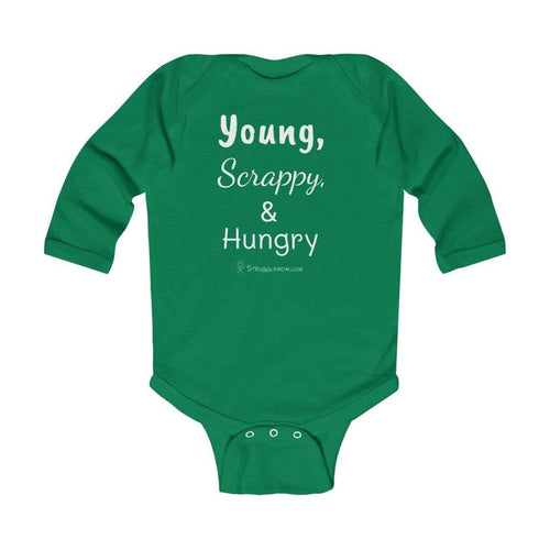 Printify Kids clothes Kelly / 18M Young, Scrappy, & Hungry