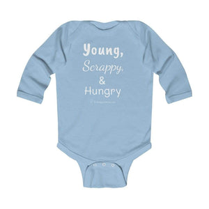 Printify Kids clothes Light Blue / 18M Young, Scrappy, & Hungry