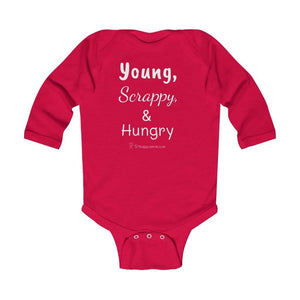 Printify Kids clothes Red / 18M Young, Scrappy, & Hungry