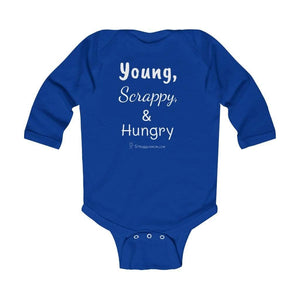 Printify Kids clothes Royal / 12M Young, Scrappy, & Hungry