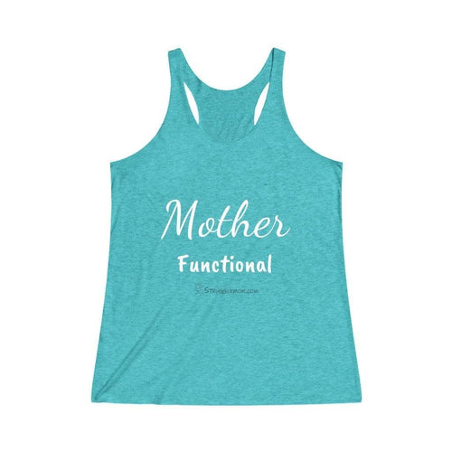 Printify Tank Top Tri-Blend Tahiti Blue / XS Mother Functional
