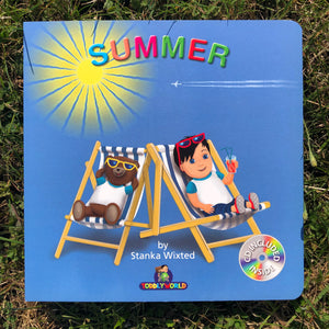Summer Children's Story & Audio book Hardcover - Toddlyworld