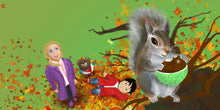 Load image into Gallery viewer, Autumn Children's Story & Audio Book Hardcover - Toddlyworld