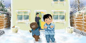Winter Children's Story & Audio Book Hardcover - Toddlyworld