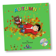 Autumn Children's Story & Audio Book Hardcover - Toddlyworld