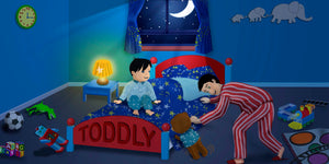Bedtime Stories Children's Story & Audio Book Hardcover - Toddlyworld