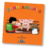 Farm Animals Children's Story & Audio Book Hardcover - Toddlyworld