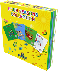 Four Seasons Box Set Children's Story & Audio Books Hardcover - Toddlyworld
