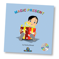 Load image into Gallery viewer, Magic Present Children's Story & Audio Book Hardcover - Toddlyworld