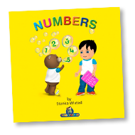 Numbers Children's Story & Audio Book Hardcover - Toddlyworld