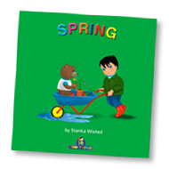 Load image into Gallery viewer, Spring Children's Story & Audio Book Hardcover - Toddlyworld
