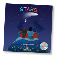 Load image into Gallery viewer, Stars Children's Story & Audio Book Hardcover - Toddlyworld